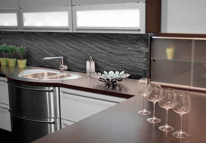 rückwand küche plexiglas home design ideen