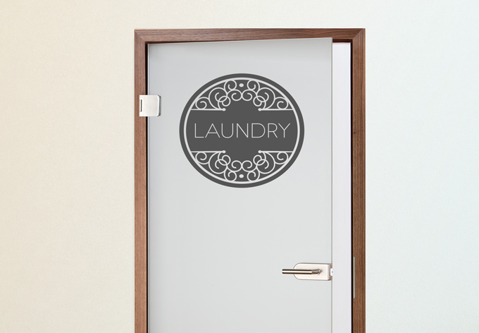 laundry wall sticker wall art com laundry room wall sticker