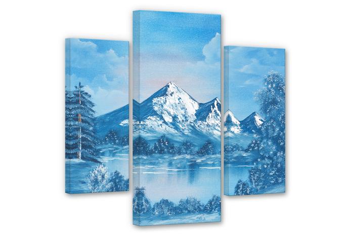Toetzke - Alps Canvas print (3 parts)