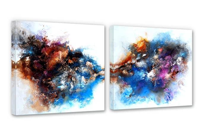 Fedrau - Strength Canvas print (2 parts)