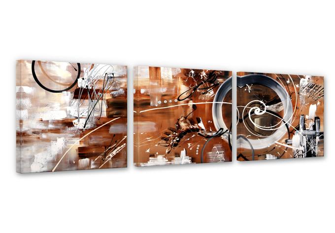 Fedrau - In the Circle Canvas print (3 parts)