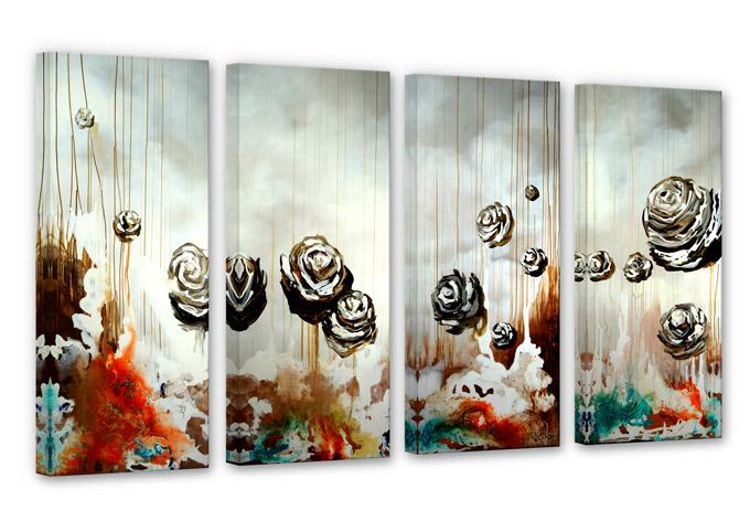Fedrau - Paradise Canvas print (4 parts)
