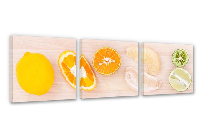 Lemonade Recipe Canvas print (3 parts)