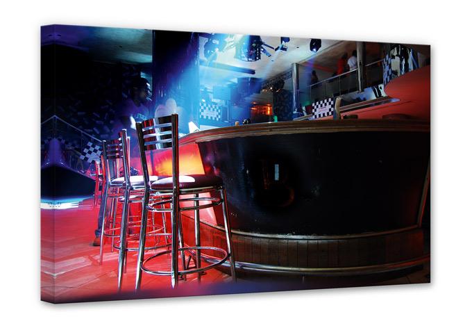 Leinwandbild Partyroom