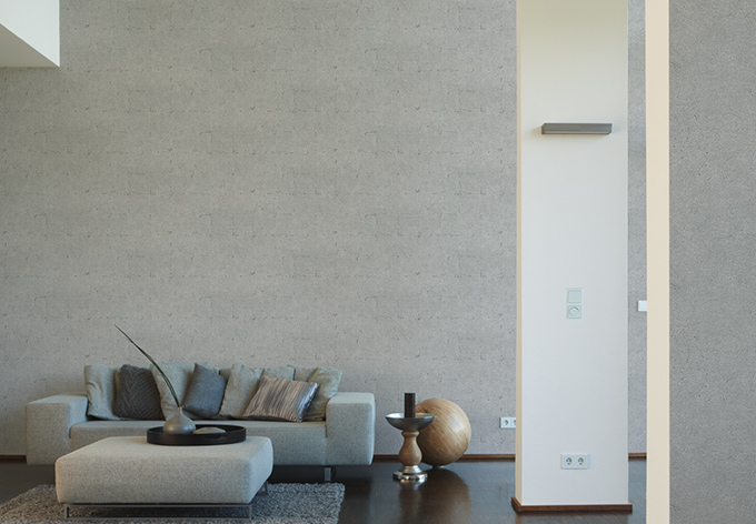 livingwalls steinoptik tapete daniel hechter 3 grau wall. Black Bedroom Furniture Sets. Home Design Ideas