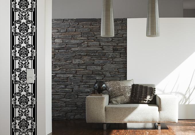 Pannello decorativo livingwalls panel colore nero - Pannello decorativo ...