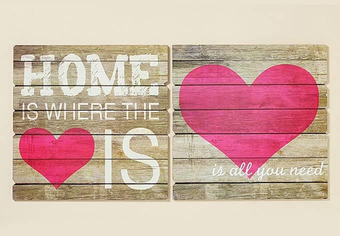 mdf bilder home is heart is wall. Black Bedroom Furniture Sets. Home Design Ideas