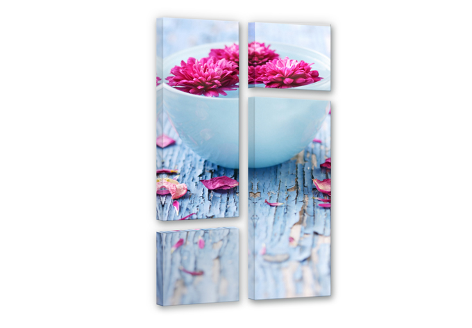 Wellness Ambiance (4 parts) Canvas print