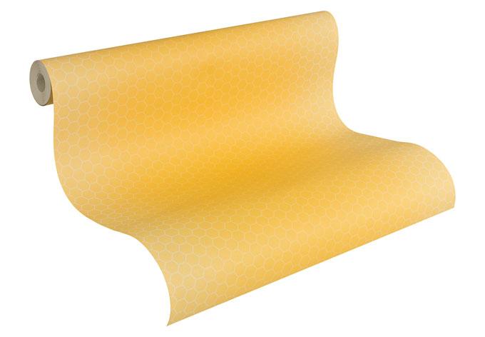 Kindertapeten Biene Maja : Cr?ation Papiertapete Kids best Friends – Die Biene Maya Beige, Gelb