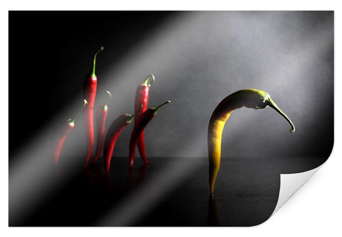 Poster Ivanova - Hit the road, Chilipepper