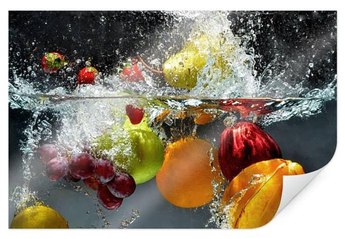 PosterRefreshing fruit