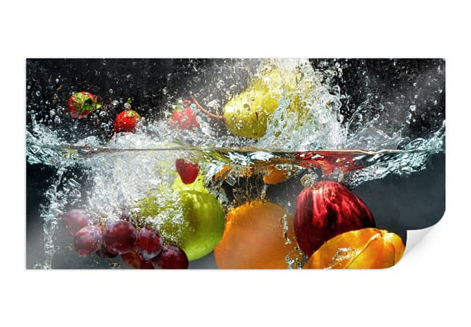 PosterRefreshing fruit - Panorama