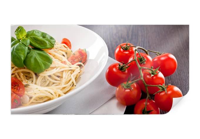 Italiaanse Keuken Teksten : Poster Pasta Italiano – Panorama – wall-art.nl
