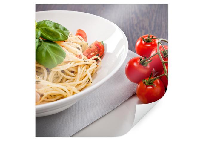Italiaanse Keuken Teksten : Poster Pasta Italiano – vierkant – wall-art.nl