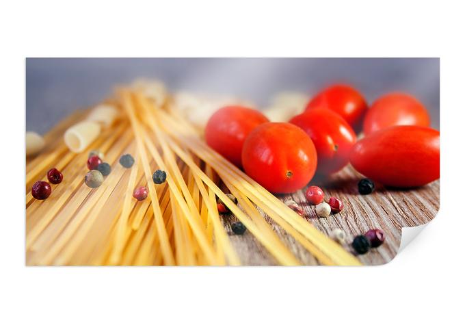 Poster Spaghetti alla mamma