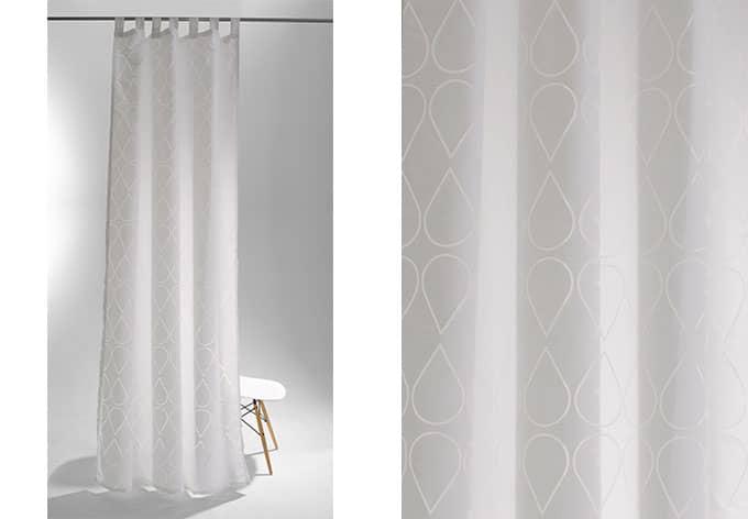 schlaufenschal raffi facet wei 5773 16 wall. Black Bedroom Furniture Sets. Home Design Ideas