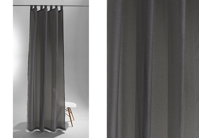 schlaufenschal raffi terra grau 5781 46 wall. Black Bedroom Furniture Sets. Home Design Ideas