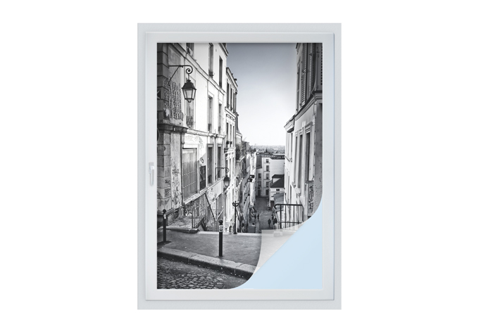 Film occultant montmartre wall for Fenetre 40x60