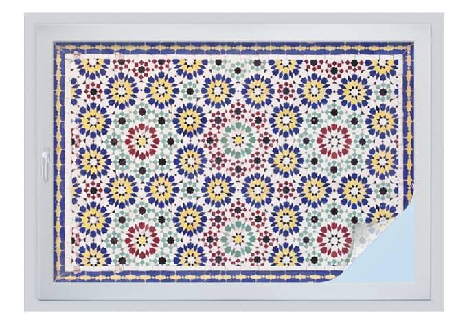 Sichtschutzfolie orientalische kacheln 01 wall for Klebefolie orientalisch
