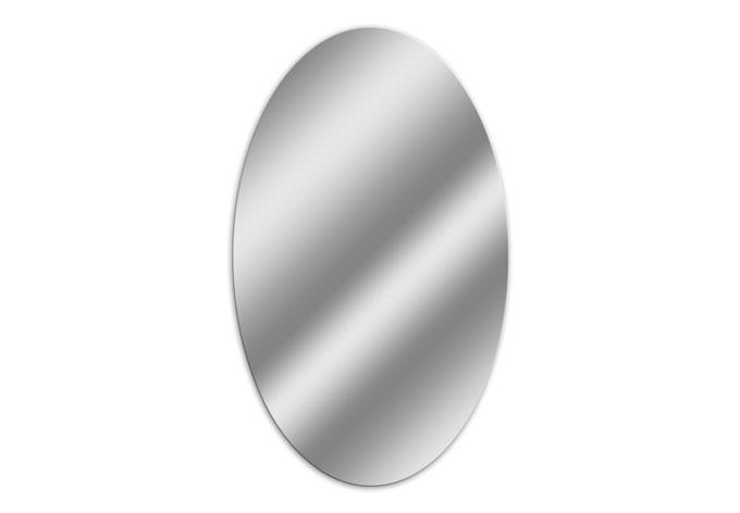 Toller ovaler wandspiegel aus acrylglas wall - Wandspiegel oval ...