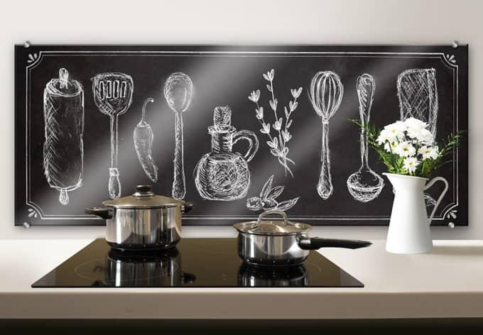 pannello paraschizzi cucina rustica panoramica wall On pannello paraschizzi cucina