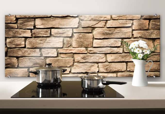italian stone wall panorama wall. Black Bedroom Furniture Sets. Home Design Ideas