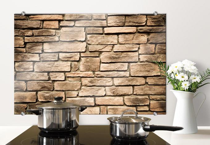 italian stone wall kitchen splashback wall. Black Bedroom Furniture Sets. Home Design Ideas