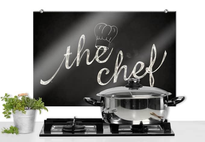 spatscherm the chef. Black Bedroom Furniture Sets. Home Design Ideas