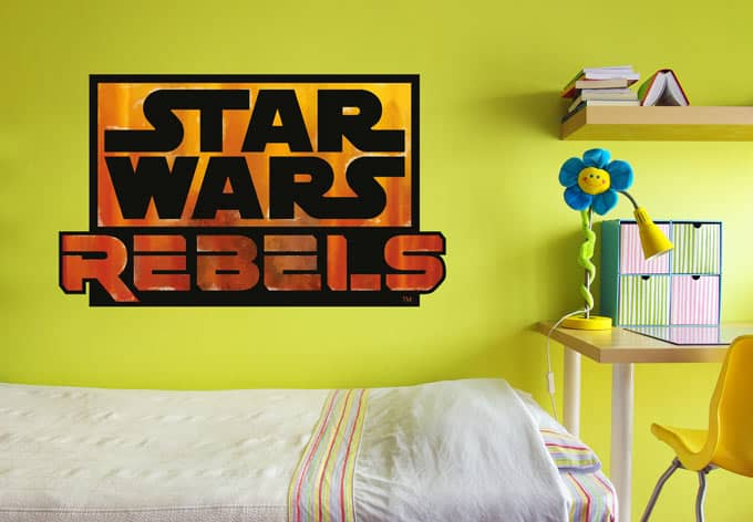 wandtattoos von star wars star wars rebels logo wall. Black Bedroom Furniture Sets. Home Design Ideas