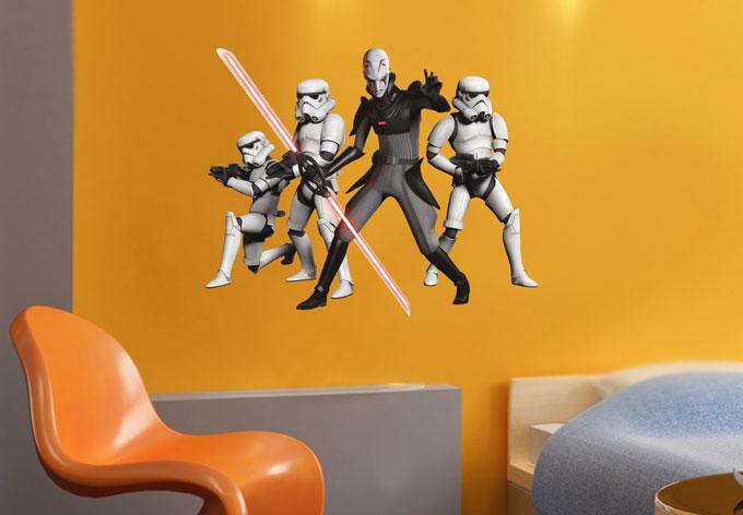 wandtattoos von star wars star wars rebels inquisitor. Black Bedroom Furniture Sets. Home Design Ideas