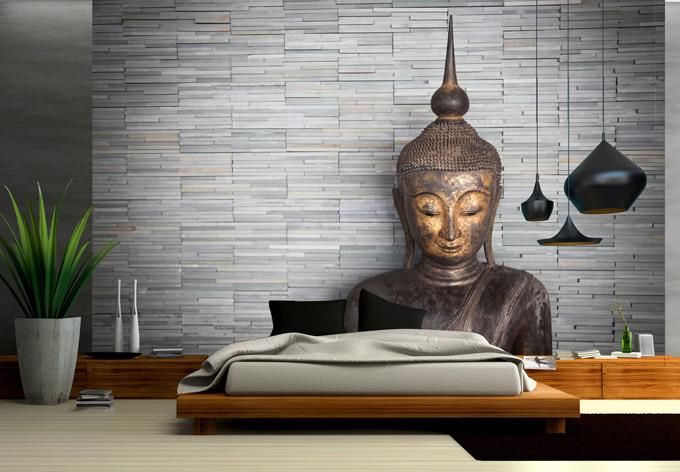 fototapete thailand buddha ruhe und entspannung f r die. Black Bedroom Furniture Sets. Home Design Ideas