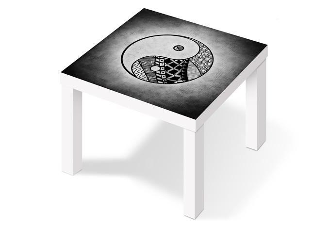 M belfolie yin und yang wall for Beistelltisch yin yang