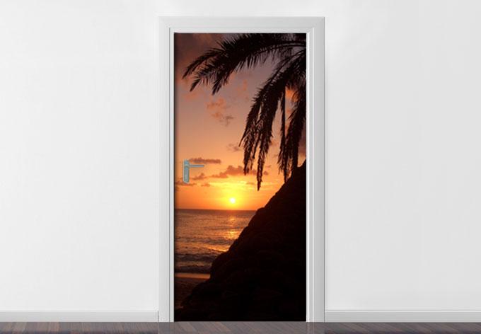 Adesivi per porte relax wall - Adesivi decorativi per porte ...