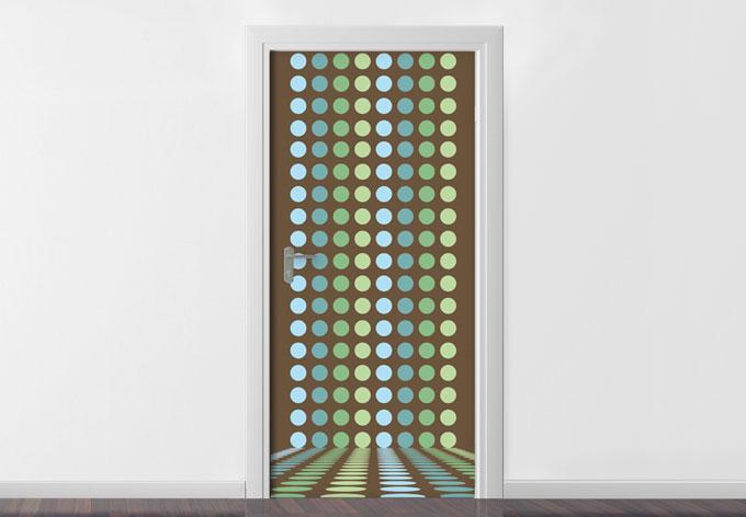 Adesivi per porte r tro wall - Pellicole adesive per porte ...