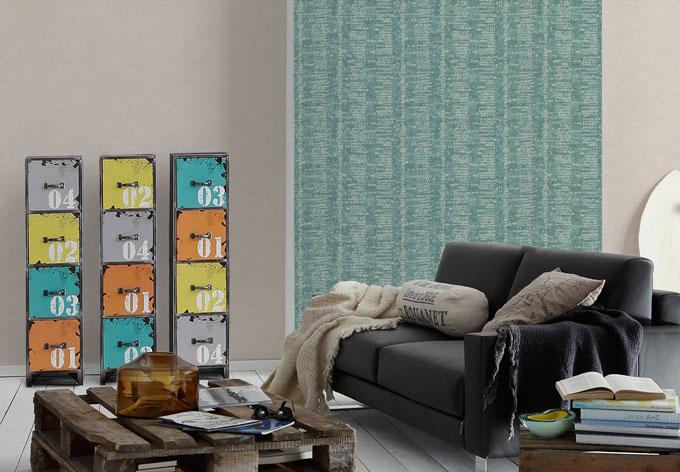 sch ner wohnen vliestapete beige creme wall. Black Bedroom Furniture Sets. Home Design Ideas