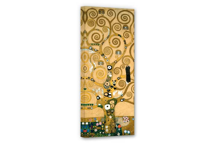 kunstdruck gustav klimt der lebensbaum auf leinwand als dekoration wall. Black Bedroom Furniture Sets. Home Design Ideas