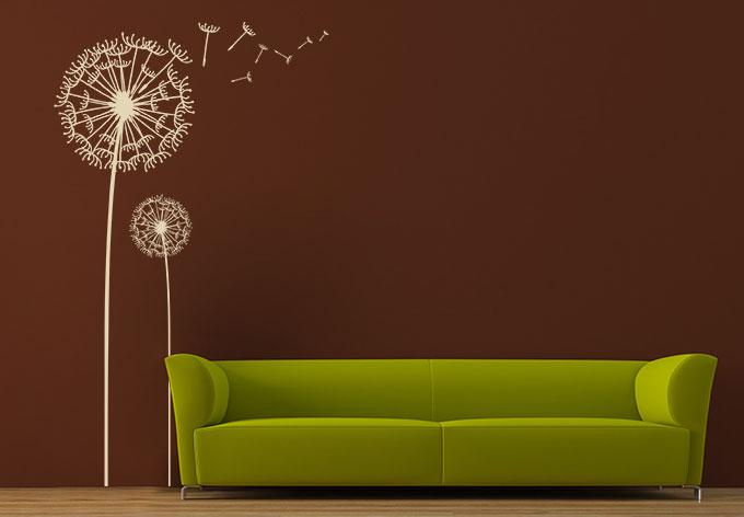 wandtattoo pusteblumen set wall. Black Bedroom Furniture Sets. Home Design Ideas