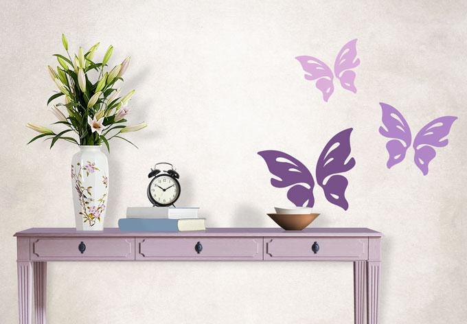 Wandtattoo Schmetterling Floris