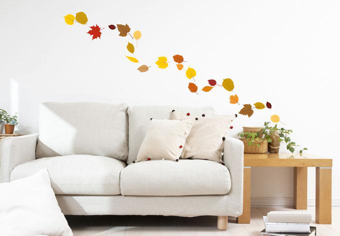 Wandtattoo Blätter Set Herbst 1