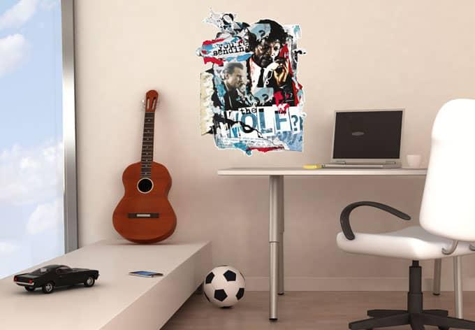 wandtattoo calling mr wolf wall. Black Bedroom Furniture Sets. Home Design Ideas