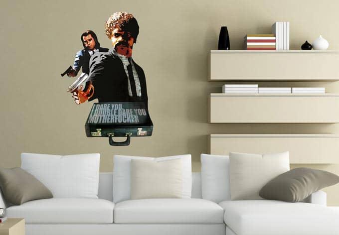 wandtattoo jules vince wall. Black Bedroom Furniture Sets. Home Design Ideas