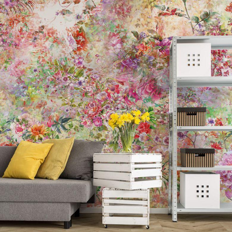 Photo Wallpaper Wild Flowers