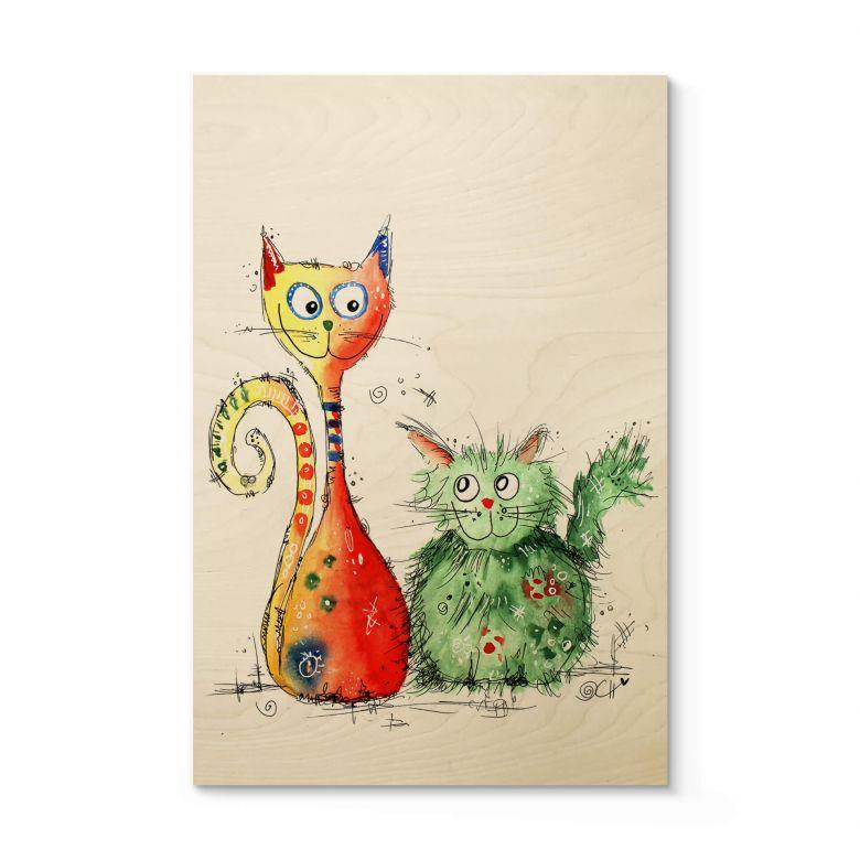 Houten Poster Hagenmeyer - Best Friends