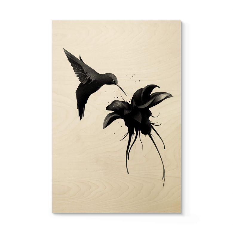 Holzposter Ireland - Chorum - Kolibri