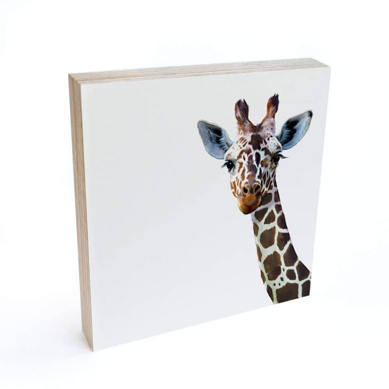 Bloc en bois à poser - Graves - Girafe