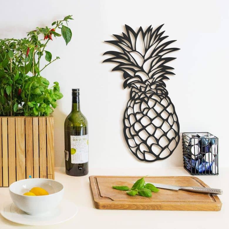 MDF Decoratie Ananas