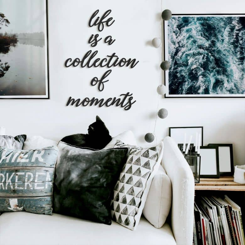 MDF Decoratie Life is a Collection of Moments