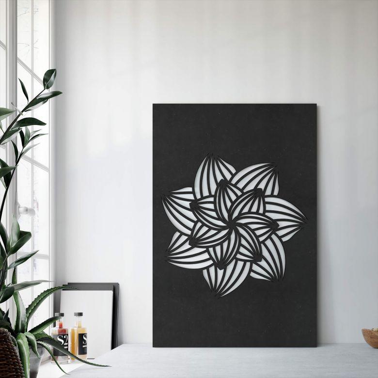 MDF Decoratie Mandala Flower