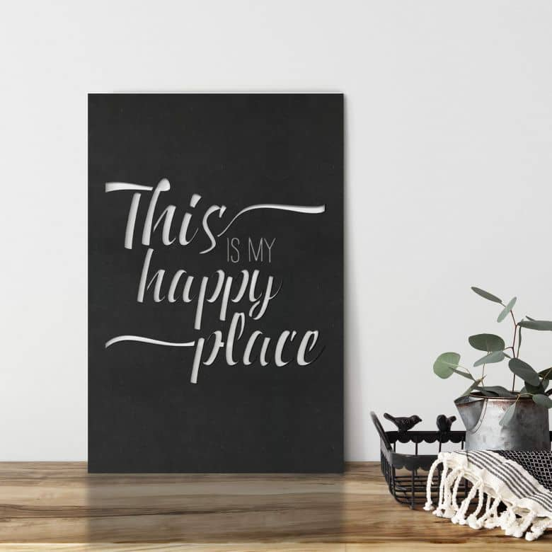 MDF Decoratie This is my Happy Place