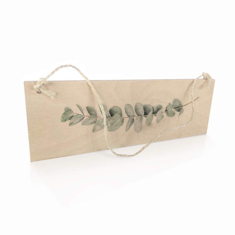 Panneau en bois Sisi & Seb - Eucalyptus - Branche